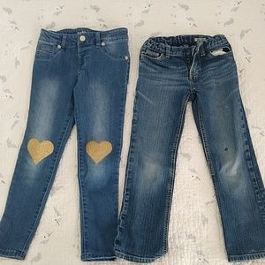 Two pairs of jeans size 6